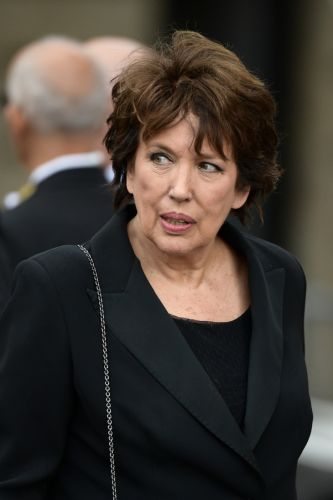 Roselyne Bachelot, ex-ministre de droite devenue chroniqueuse média