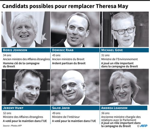 Succession de Theresa May:  des prétendants déjà dans les starting blocks