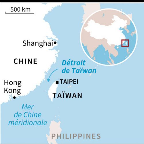 Détroit de Taïwan: incident naval entre la France et la Chine