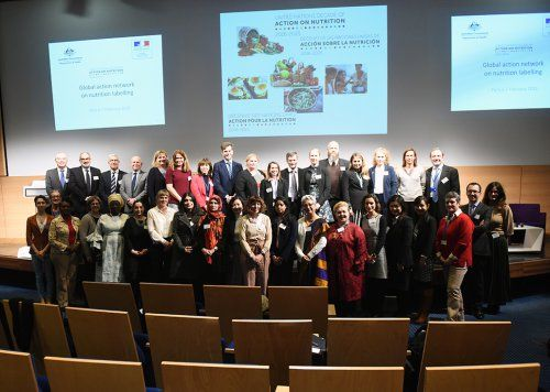 France and Australia announce the launch of a global action network on Nutrition labelling