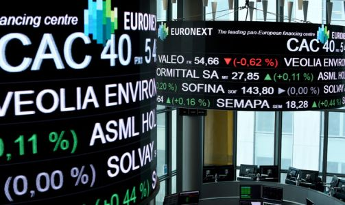 La Bourse de Paris termine en hausse de 1,34% à 5.371,56 points