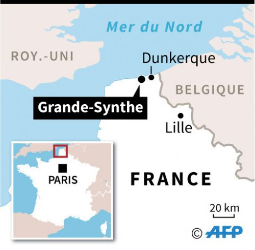 Grande-Synthe: évacuation d'un campement d'environ 1.800 migrants