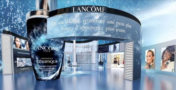 Lancôme ouvre son premier Pop Up virtuel