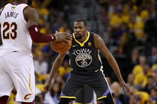 NBA: Durant accompagne Golden State à Toronto