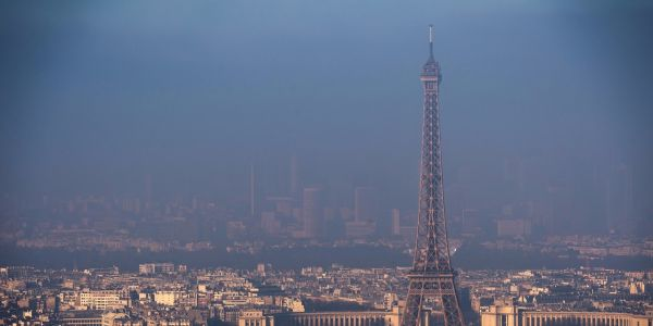 Pollution atmosphérique:  une carte interactive sur la qualité de l'air en Europe