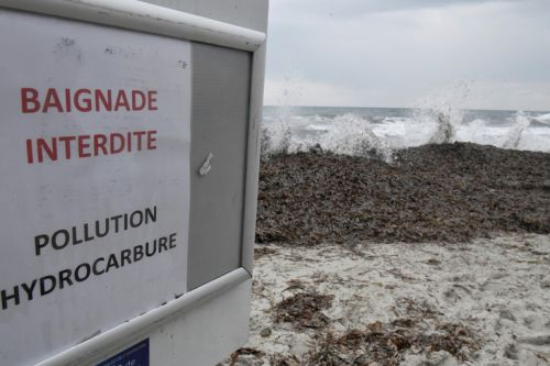 Le littoral varois touché par une pollution aux hydrocarbures