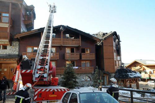 Important incendie à Courchevel: 2 morts